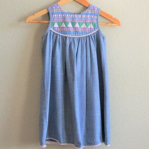 Iris & Ivy Blue Girls Dress Size 6